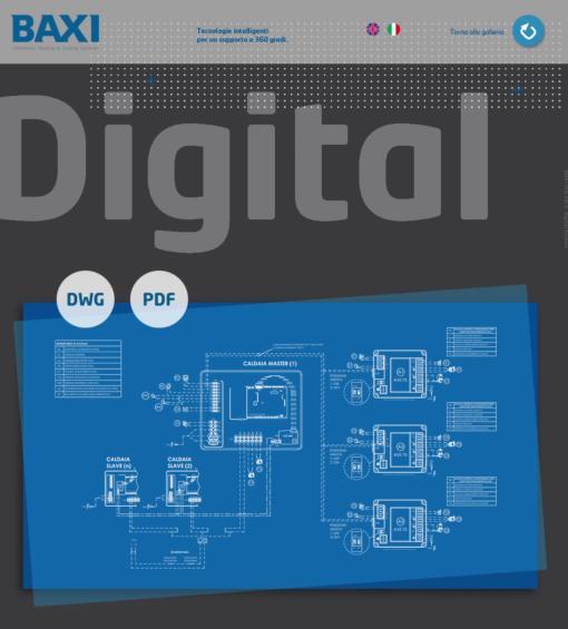 Nuovo Tool di Baxi comprende 300 diverse soluzioni impiantistiche