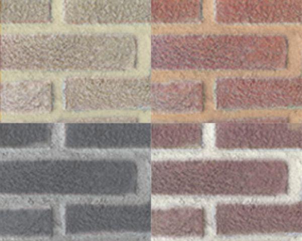 """Nuove malte """"faccia a vista"""" colorate di Bernardelli Group"""