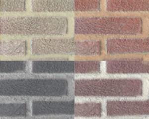 """Pensa a colori con le nuove malte """"faccia a vista"""" colorate di Bernardelli Group"""