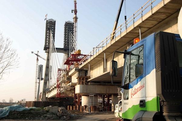 Infrastruttura realizzata con soluzioni Betonrossi