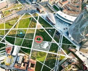 La Biblioteca degli alberi è il nuovo polmone verde di Milano