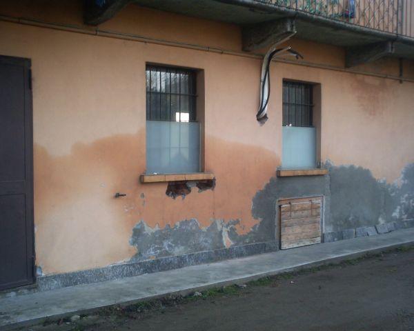 Muri con il problema dell'umidità capillare di risalita
