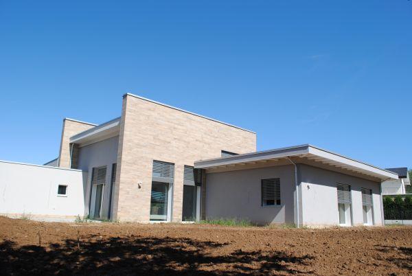 Per il progetto dell'edificio residenziale a Carnago si è scelto il sistema costruttivo Bioisotherm