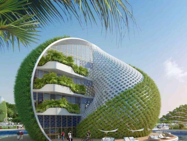Biomimetica e tecnologia: edifici green e innovativi