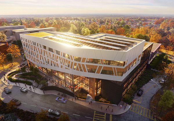 Edificio in legno e a zero emissioni di carbonio in Ontario
