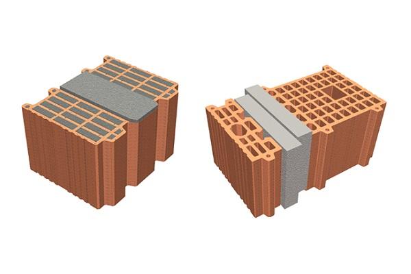 blocchi con isolante integrato
