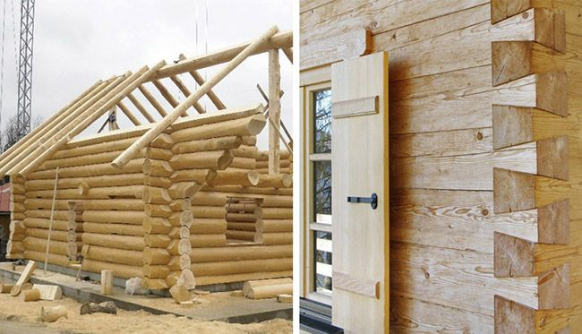 Blockbau: la casa di tronchi