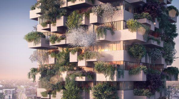 Trudo Vertical Forest, Eindhoven
