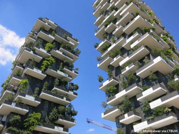 Il bosco verticale tra i grattacieli più simbolici degli ultimi 50 anni