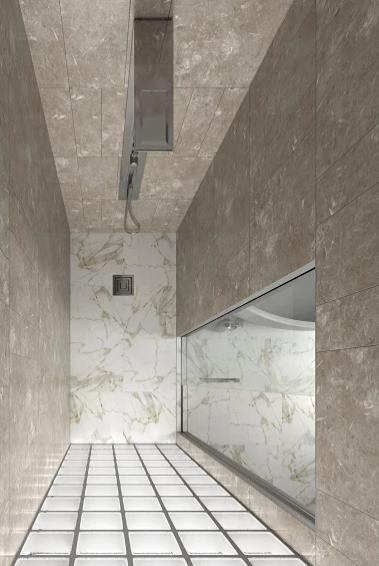 Box doccia marmo zenitale doccia