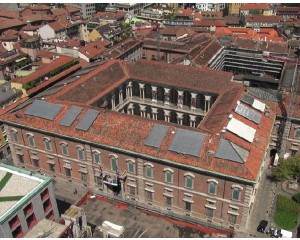 Ristrutturazione della copertura del complesso monumentale di Brerain Milano