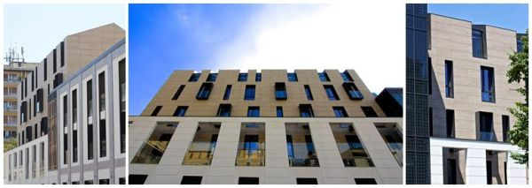 Sistema termoisolante Isotec Parete di Brianza Plastica per le residenze Il Chiostro a Milano
