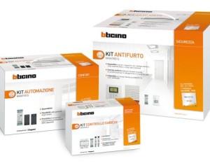 Comfort e sicurezza in casa, con i nuovi Kit BTicino