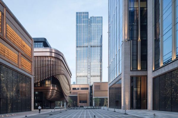 Nuovo complesso Bund Finance Center a Shangai