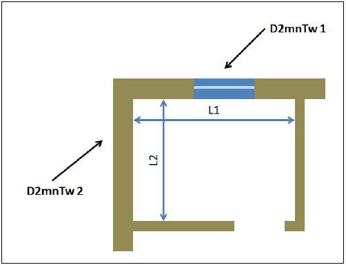 Calcolo di due distinti isolamenti di facciata