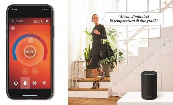 CAME e Alexa per una gestione della temperatura al top!
