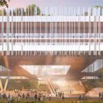 Nuovo istituto di design e innovazione di Shenzhen