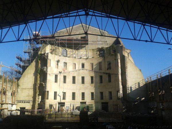 Intervento di restauro del teatro Galli di Rimini