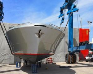 Le tendostrutture in PVC di Kopron per il settore nautico