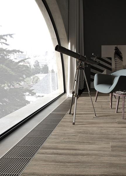 Ambientazione del ventilconvettore a pavimento