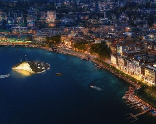 Lugano, il lungolago secondo CRA