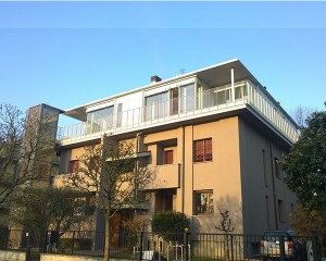 Riqualificazione in acciaio di un edificio residenziale