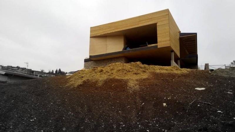 La casa di paglia, la passivhaus ecocompatibile