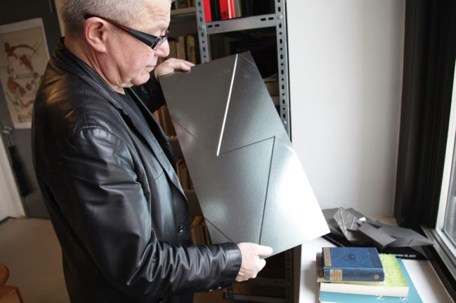Daniel Libeskind ha firmato per Casalgrande Padana le lastre in gres fractile