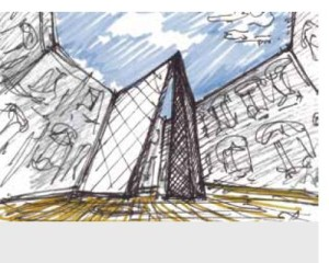 Libeskind con Casalgrande Padana presenta Pinnacle