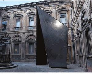 PINNACLE l'installazione progettata da Libeskind per Casalgrande Padana