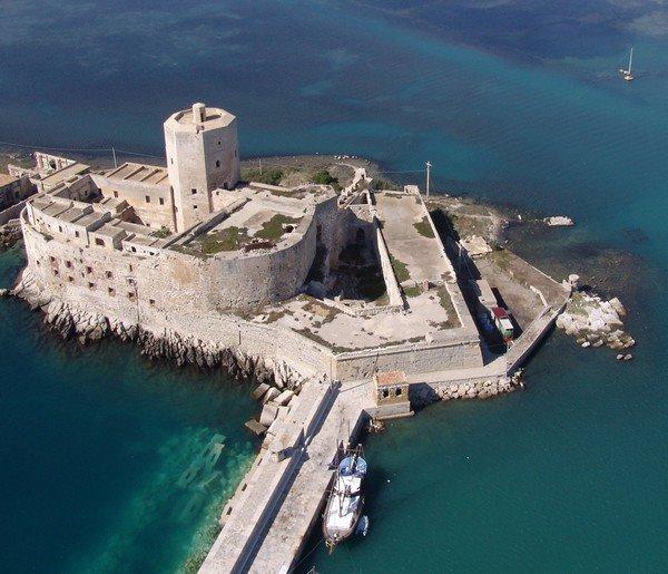 Il Castello della Colombaia a Trapani tra i 9 edifici inseriti  nella quarta edizione del bando Valore Paese-Fari.