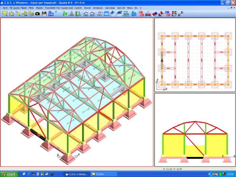 Software libreria strutturale for Programma di disegno software