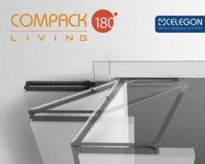 COMPACK LIVING® –l'apertura a 180 gradi anche su porte a 3 ante