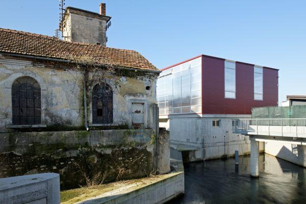 La nuova centrale idroelettrica Seva srl di Pontoglio