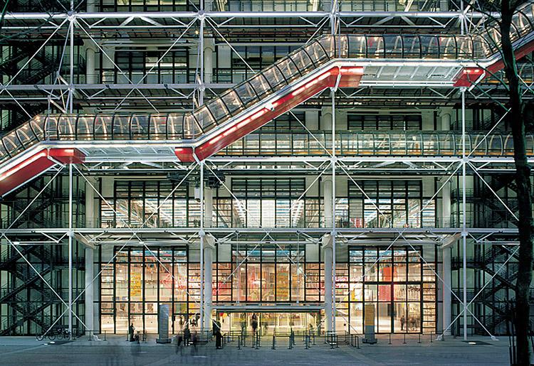 Renzo Piano: Centre Pompidou, Parigi
