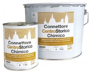 Connettore chimico per il consolidamento e rinforzo di solai in calcestruzzo