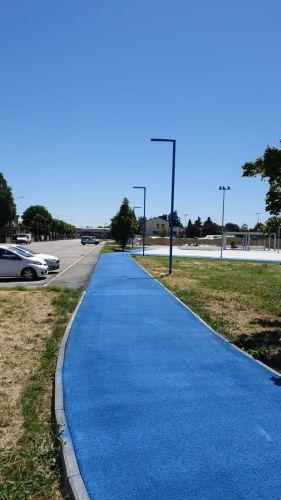 Riqualificazione area del Bargellino, la nuova pista ciclabile