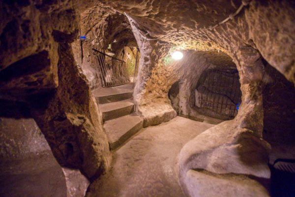 Città sotterranee in Cappadocia