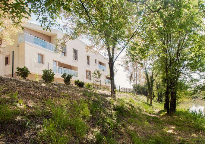 Il progetto di Cohousing SanGiorgio a Ferrara è stato curato dallo studio Rizoma Architetture.