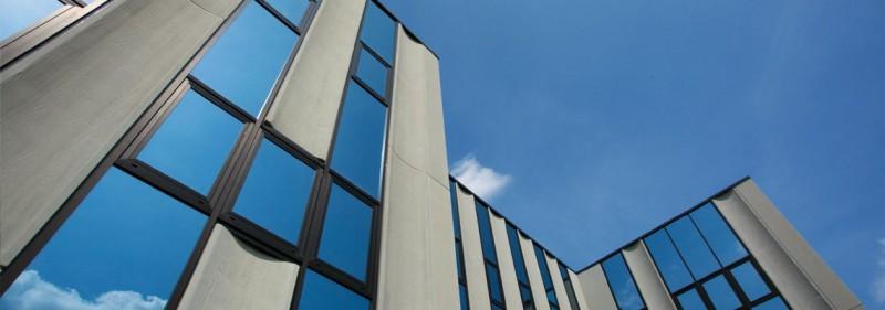 La sede di Colacem, azienda produttrice del cemento