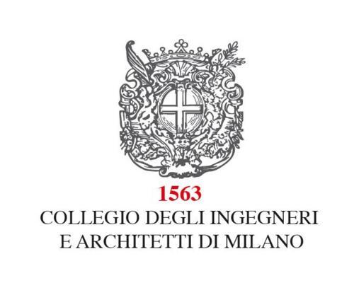 L'iniziativa gode del patrocinio del Collegio Ingegneri e Architetti di Milano