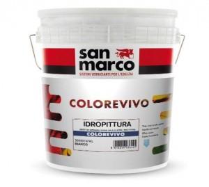Colorevivo, la nuova idropittura vivace ed intensa