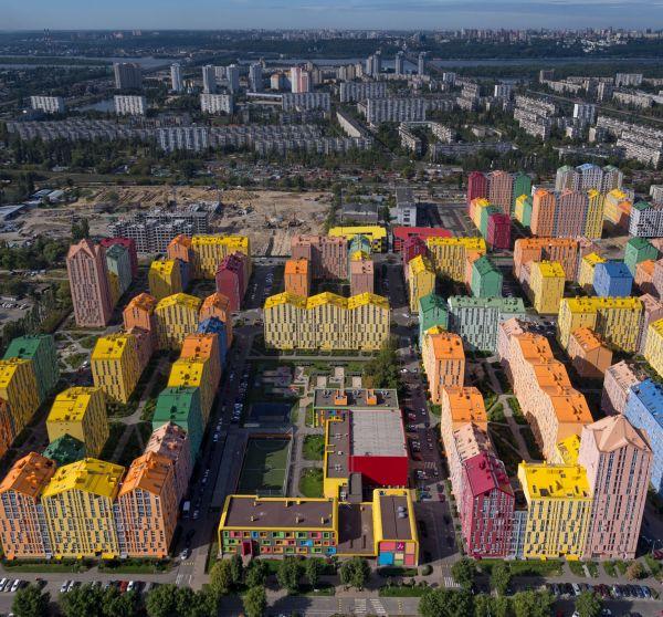 Progetto di quartiere sostenibile Comfort Town a Kiev