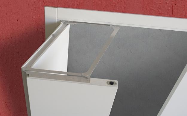 sistema di apertura brevettato Compack Living®