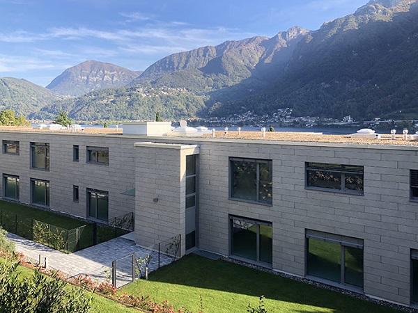 Complesso residenziale a Riva San Vitale