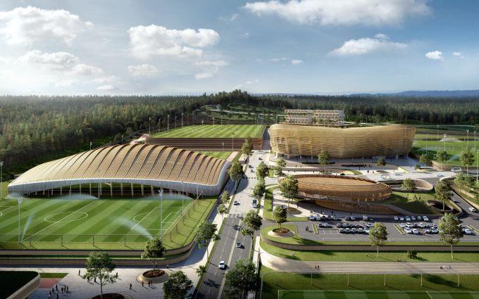 Korean National Football Centre firmato UNStudio