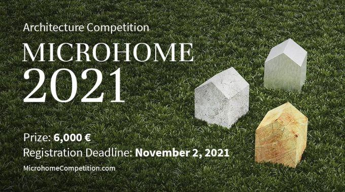 Concorso microhome 2021 per progettare una micro casa con tutti i comfort