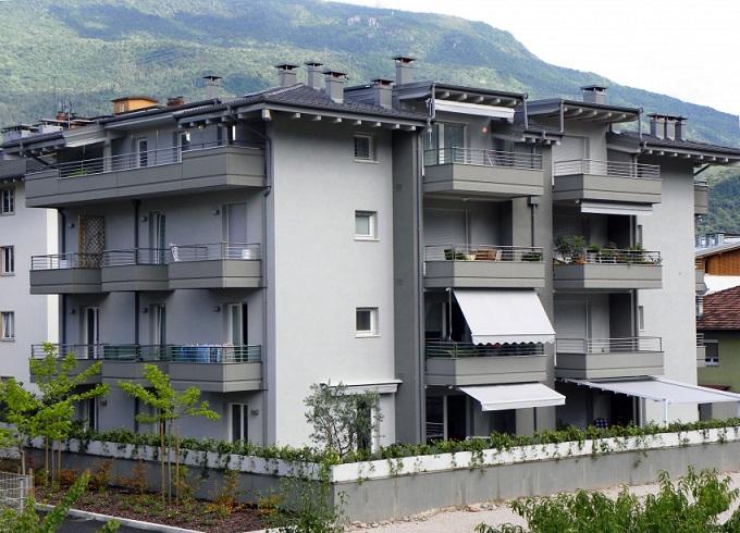 Condominio realizzato con sistema costruttivo Poliespanso
