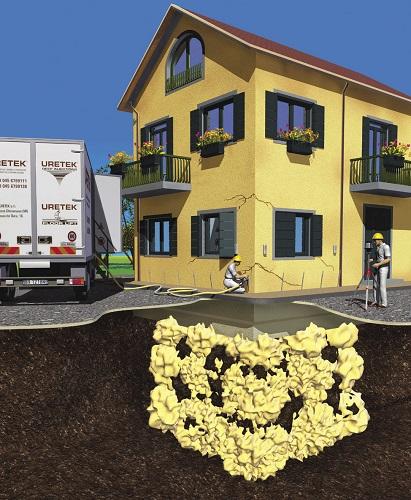 Tecnologia di consolidamento del terreno