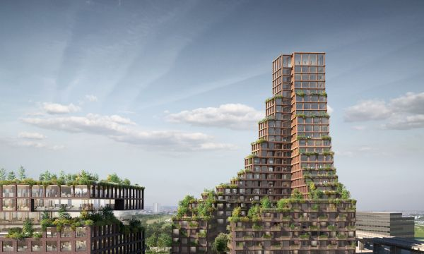 La torre di Copenhagen, circolare e sotenibile